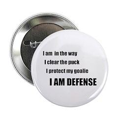 "Defense 2.25"" Button (100 pack)"