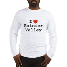 I Heart Rainier Valley Long Sleeve T-Shirt