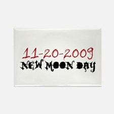 New Moon Day 11-20-09 Rectangle Magnet
