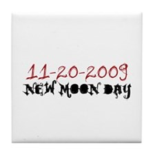 New Moon Day 11-20-09 Tile Coaster