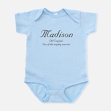 Madison Meaning Infant Bodysuit
