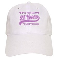 21st Birthday Baseball Cap