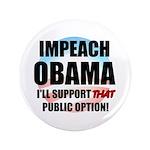 """The Public Option 3.5"""" Button (100 pack)"""