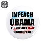 """The Public Option 3.5"""" Button (10 pack)"""