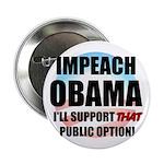 """The Public Option 2.25"""" Button (100 pack)"""