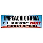 The Public Option Bumper Sticker (10 pk)