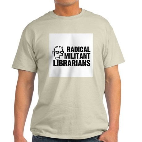 Radical Militant Librarians T-Shirt (Ash Grey)