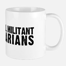 radical militant librarians wide Mugs