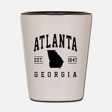 Cute Atlanta Shot Glass