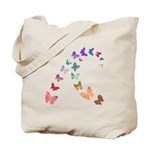 Soft Butterflies Tote Bag
