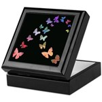 Soft Butterflies Keepsake Box
