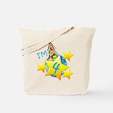 I'm Four Tote Bag