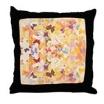 Soft Butterflies Throw Pillow