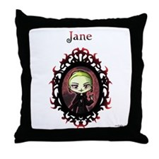 New Moon Volturi Jane Throw Pillow