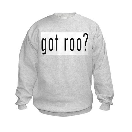 got roo? Kids Sweatshirt