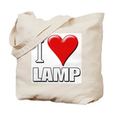 Anchorman - I Love Lamp Tote Bag