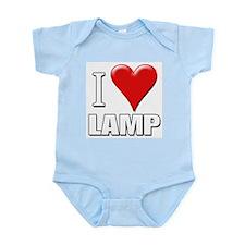 Anchorman - I Love Lamp Infant Creeper