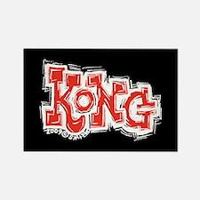 Kong Rectangle Magnet
