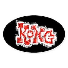 Kong Oval Decal