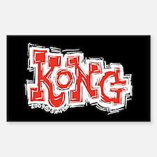 Kong Rectangle Decal