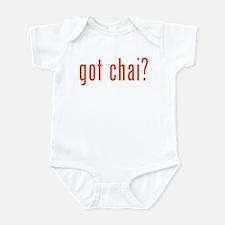 got chai? Infant Bodysuit