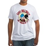 Hillbilly An' Proud! Fitted T-Shirt