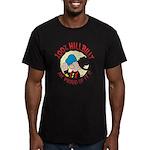 Hillbilly An' Proud! Men's Fitted T-Shirt (dark)