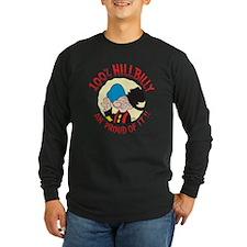 Hillbilly An' Proud! Long Sleeve Dark T-Shirt
