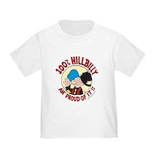 Hillbilly An' Proud! Toddler T-Shirt