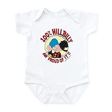 Hillbilly An' Proud! Infant Bodysuit