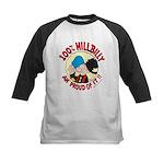 Hillbilly An' Proud! Kids Baseball Jersey