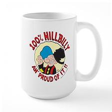 Hillbilly An' Proud! Large Mug