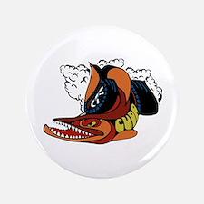 """Vintage Cuda Fish 3.5"""" Button"""