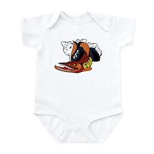 Vintage Cuda Fish Infant Bodysuit