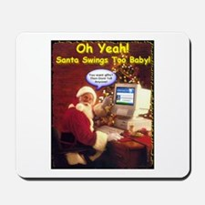 Santa Swings Mousepad