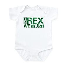 In Rex We Trust Infant Bodysuit