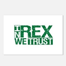 In Rex We Trust Postcards (Package of 8)