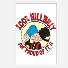 Hillbilly An' Proud! Postcards (Package of 8)