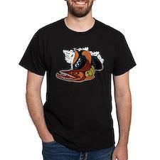 Vintage Cuda Fish Distressed T-Shirt