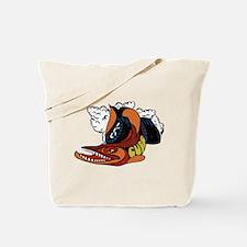 Vintage Cuda Fish Tote Bag