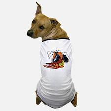 Vintage Cuda Fish Dog T-Shirt