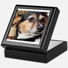 Buddy Fox Terrier Photo-9 Keepsake Box