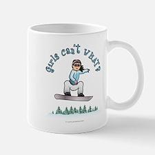 Light Snowboarding Small Small Mug