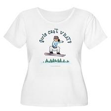 Light Snowboarding T-Shirt