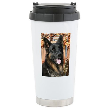 Cabo German Shepard Photo-4 Stainless Steel Travel