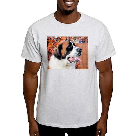 Mae Saint Bernard Photo-6 Light T-Shirt