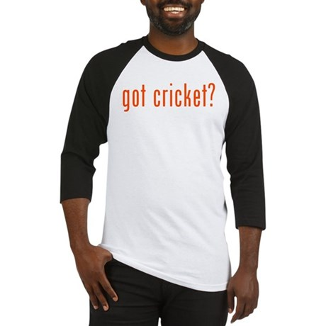 got cricket? Baseball Jersey