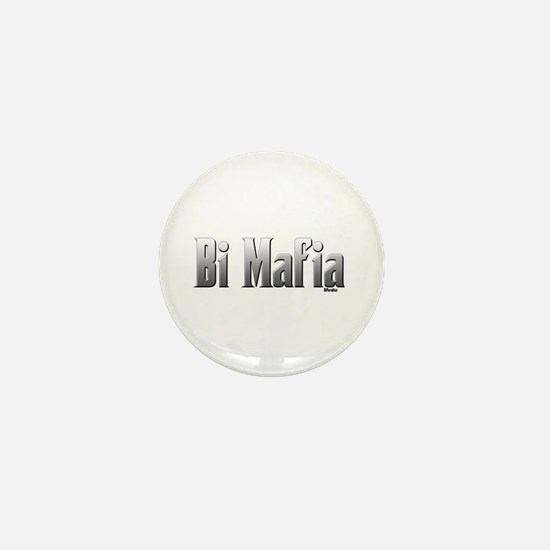 Bi Mafia Mini Button