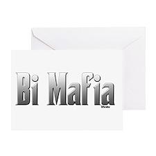 Bi Mafia Greeting Card