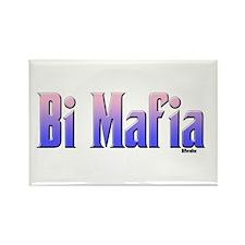 Bi Mafia Bi Colors Rectangle Magnet